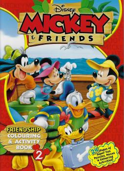 Mickey & Friends Friendship Colouring & Act Book 2