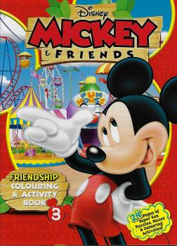 Mickey & Friends Friendship Colouring & Act Book 3