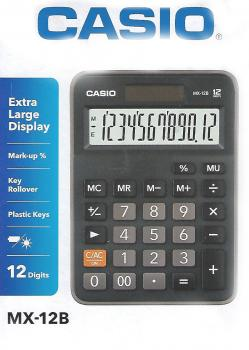 Casio Mini Desktop Calculator