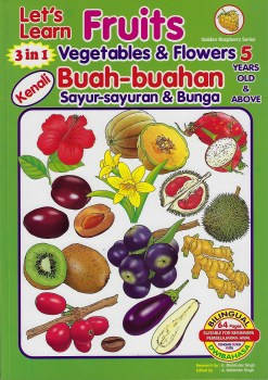 Lets Learn Fruits,Vegetables & Flowers