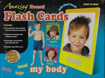 Amazing Board Flash Cards My Body