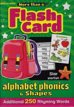 More Than A Flash Card : Alphabet Phonics & Shape