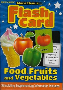 More Than A Flash Card :Food,Fruits And Vegetables