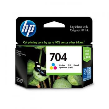Hp Ink Catridge 704 (Cn693aa Color)