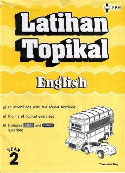 Latihan Topikal English Year 2