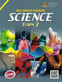 TEXT BOOK SCIENCE DUAL LANGUAGE FORM 3 (2020)
