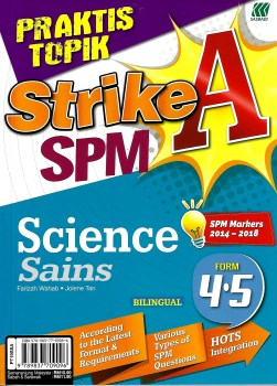 PRAKTIS TOPIK STRIKE A+ SPM SCIENCE