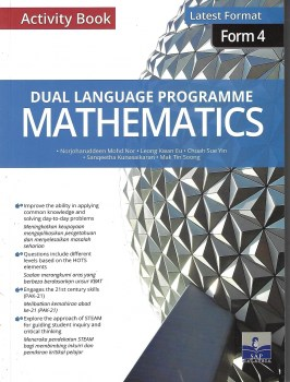 ACTIVITY BOOK DLP MATHEMATICS LATEST FORMAT FORM 4 (2020)