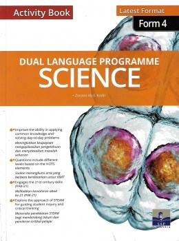 ACTIVITY BOOK DLP SCIENCE LATEST FORMAT FORM 4 (2020)
