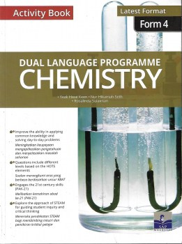 ACTIVITY BOOK DLP CHEMISTRY LATEST FORMAT FORM 4 (2020)