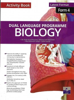 ACTIVITY BOOK DLP BIOLOGY LATEST FORMAT FORM 4 (2020)