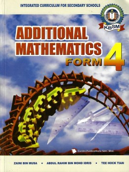 Additional Mathematics Form 4