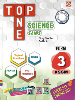 TOP ONE SCIENCE KSSM FORM 3 (2020)
