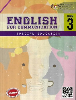 ENGLISH FOR COMMUNICATION SPECIAL EDUCATION FORM 3 (2020)