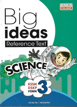 BIG IDEAS REFERENCE TEXT SCIENCE KSSM DSKP FORM 3 (2020)