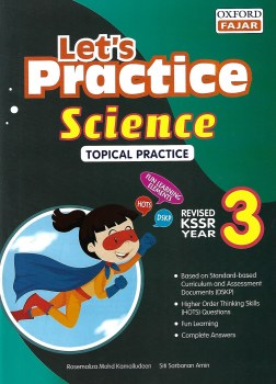 LET'S PRACTICE SCIENCE TOPICAL PRACTICE REVISED KSSR YEAR 3 (2020)